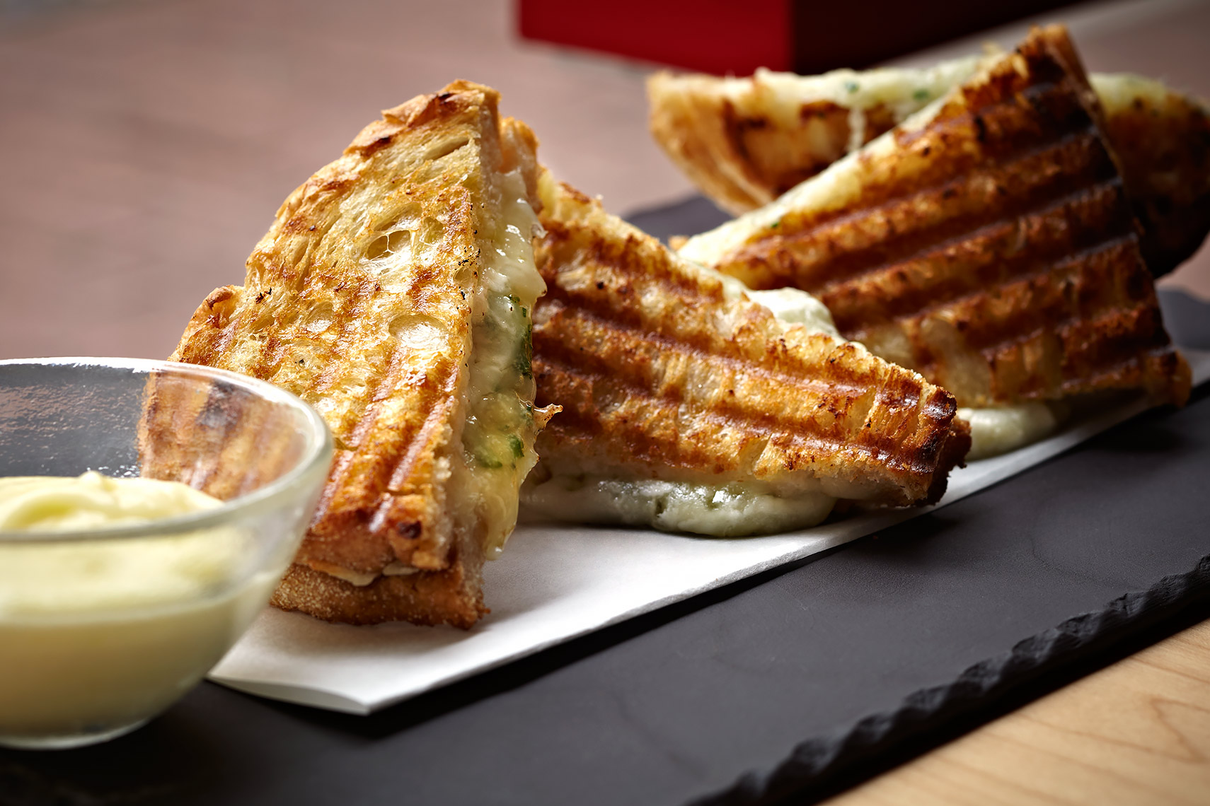 Grilled Cheese at Jaleo Tapas Bar by Jose Andres