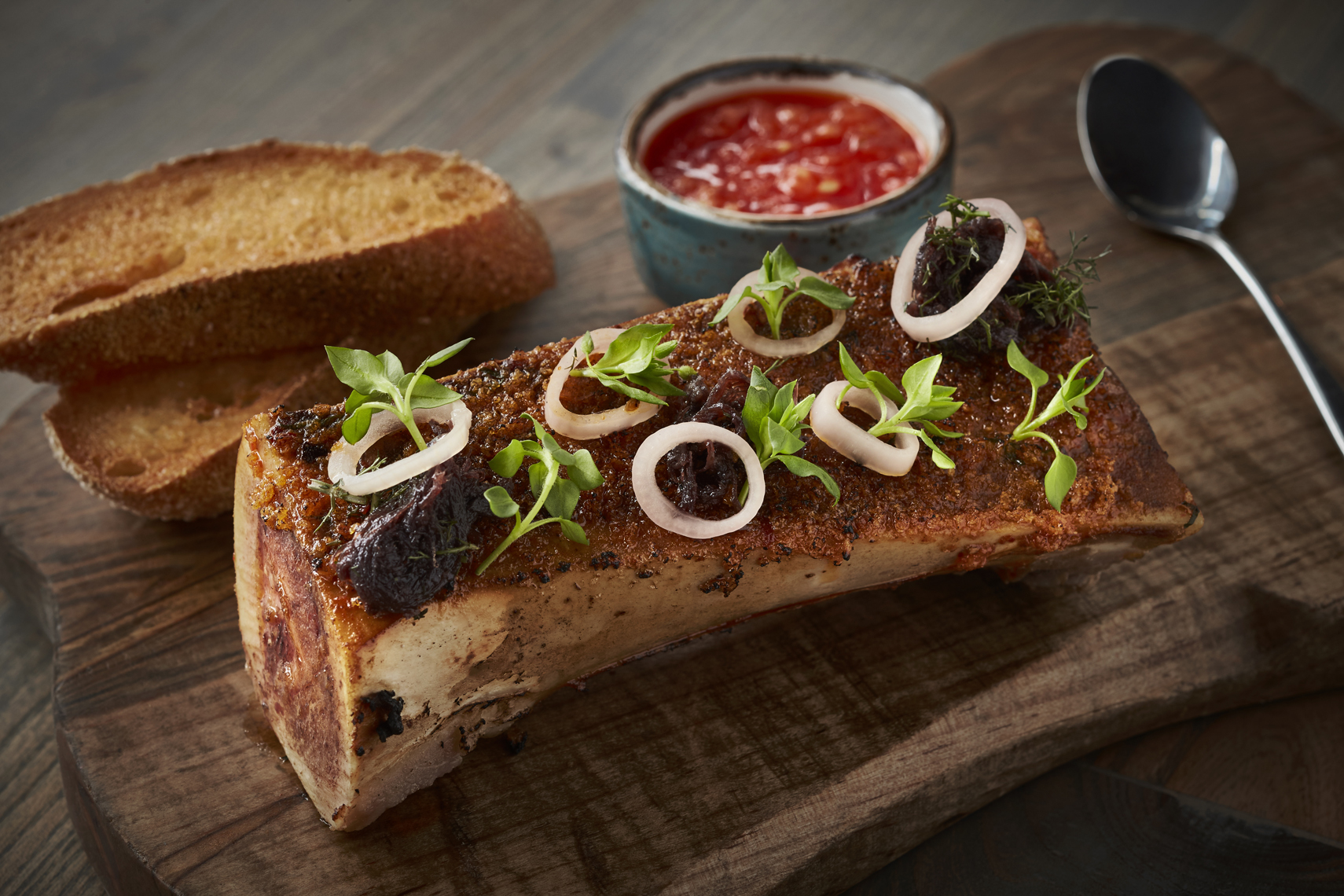 FOOD-DiningOut9-Hot-Smoked-Bone-Marrow-Oxtail-Jam-Pan-Con-Tomate-